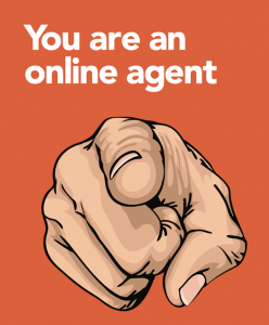 You are an online agent